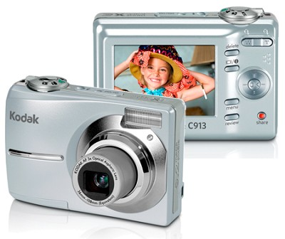 EasyShare C913 Zoom Digital Camera (Silver)