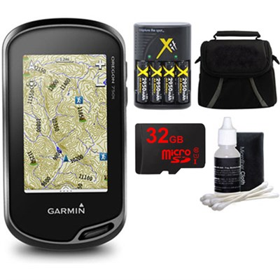Oregon 750t Handheld GPS w/ Built-In Wi-Fi & Camera, 32GB MicroSD Kit - Canada