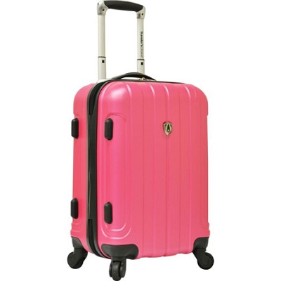 Traveler?s Choice Cambridge 20` Hardsided Carry-On Spinner, Pink