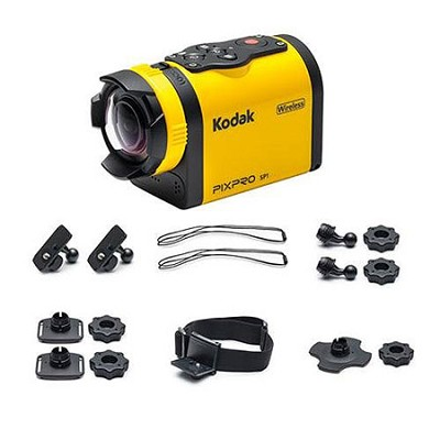 SP1 Waterproof Action Digital Camera Extreme Accessories 14MP, 1.5` LCD, Full HD