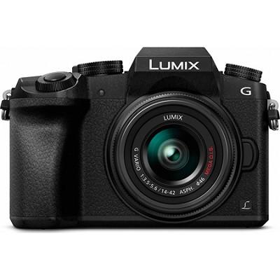 LUMIX G7 Interchangeable Lens 4K Ultra HD Black DSLM Camera with 14-42mm Lens
