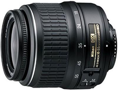 18-55mm f/3.5-5.6G ED II AF-S DX Nikkor Zoom Lens (Import)