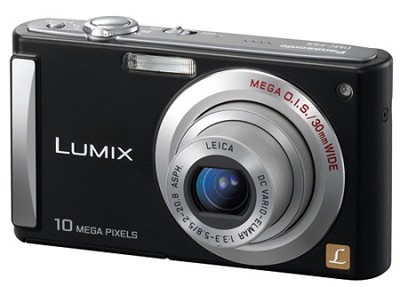 (Black) 10 Megapixel Digital Camera w/ 2.5-inch LCD & 4x Optical Zoom(OPEN BOX)