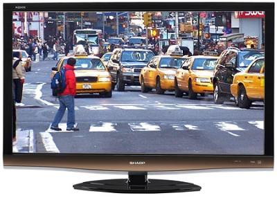 LC46E77UN AQUOS 46nch HD 1080p 120Hz LCD TV - OPEN BOX