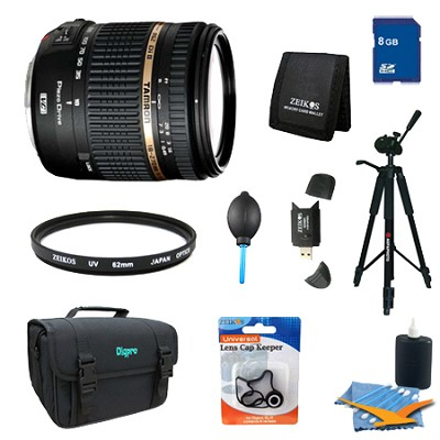 18-270mm f/3.5-6.3 Di II VC PZD Aspherical Lens Pro Kit for Sony DSLR