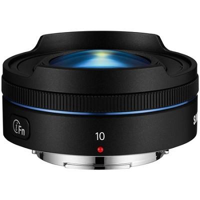 NX 10mm f/3.5 Fisheye Lens - Black