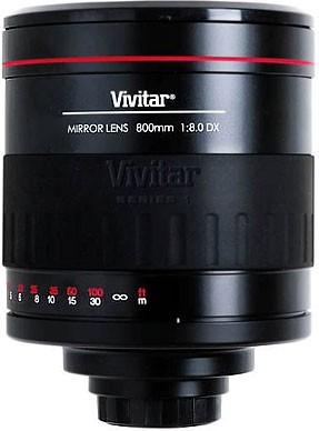 800mm f/8 Series 1 Manual Focus Mirror Lens