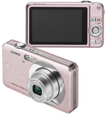 Exilim EX-Z80 8.1MP Digital Camera with 2.6` LCD (Pink)