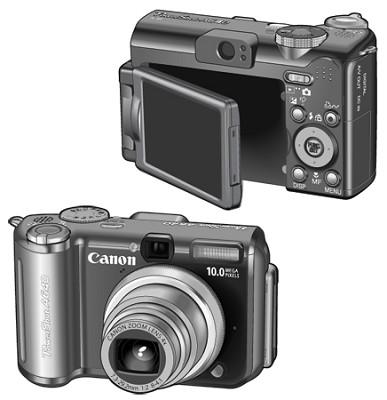 Powershot A640 Digital Camera