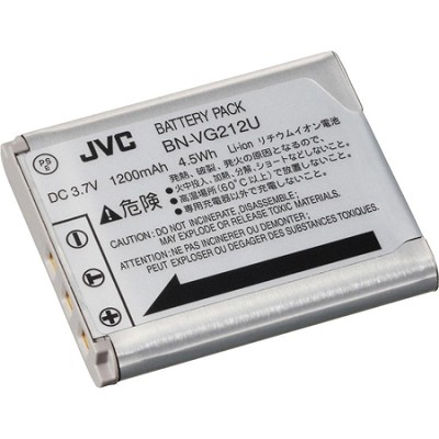 BN-VG212 3.7v 1200mAh, Battery, for JVC V/VX Everio Camcorder Series