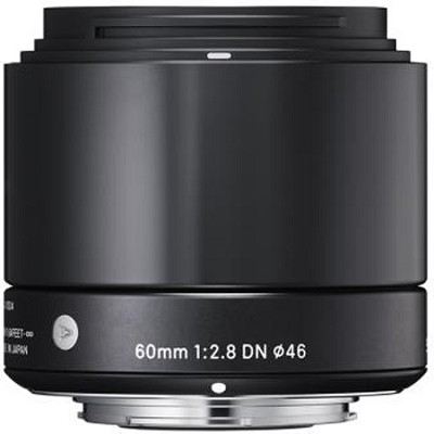 60mm F2.8 EX DN ART Lens for Sony E-Mount (Black)