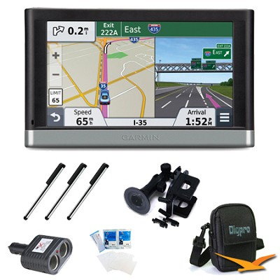 nuvi 2577LT 5` Bluetooth GPS with Lifetime Traffic Updates Ultimate Bundle