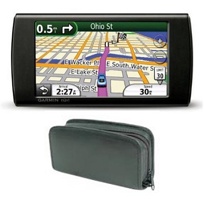 nuvi 295W Wi-Fi Portable GPS Navigator with Free Zeikos Deluxe Leather Case