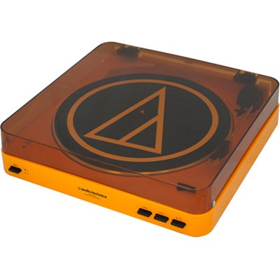 AT-LP60-BT Fully Automatic Bluetooth Stereo Turntable System (LE Orange)