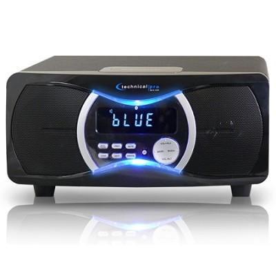 BLUET3 Powered Bluetooth Speakers Black