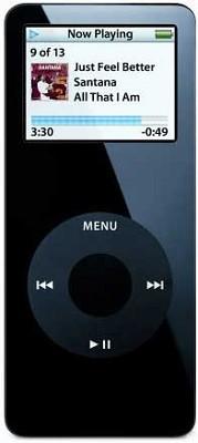 iPod nano 4GB Black MP3 Player