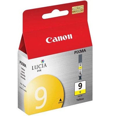 PGI-9 Yellow Ink Tank for PIXMA iX7000, MX7600, Pro9500, Pro9500 Mark II