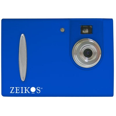 ZE-DC26 Point & Shoot Digital Camera - Blue