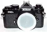 FM3A CAMERA  BLACK SLR  BODY with Nikon usa warranty