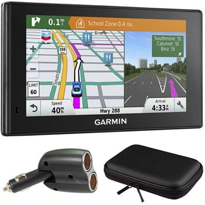 010-01540-01 DriveSmart 60LMT GPS Navigator Charger Bundle