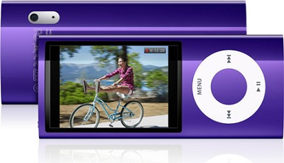 iPod Nano 5th Generation 8GB MP3 Player - Purple REFURBISHED