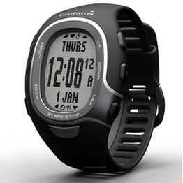 FR60 Fitness Watch Men's Black Bundle w/ Heartrate Monitor, USB Stick, Foot Pod