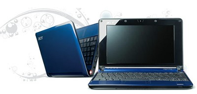 Aspire one  8.9-inch Netbook PC - (AOA110-1722)