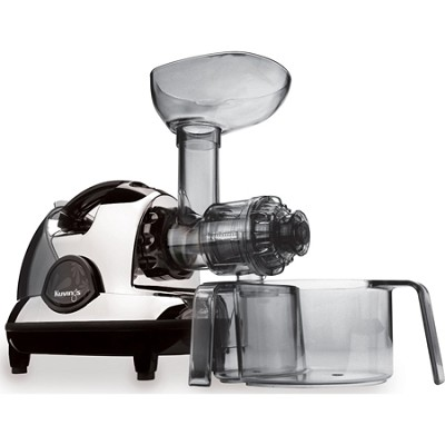NJE-3570U Masticating Slow Juicer, Chrome - OPEN BOX