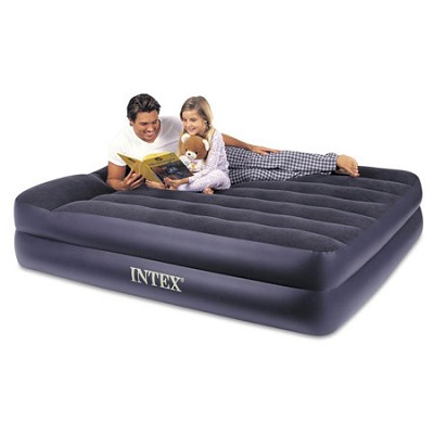 Pillow Rest Queen Airbed with Built-in Electric Pump