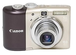 Powershot A1000 IS Digital Camera (Brown)