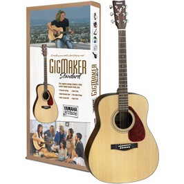 Gigmaker Standard Acoustic Guitar Pack - Natural