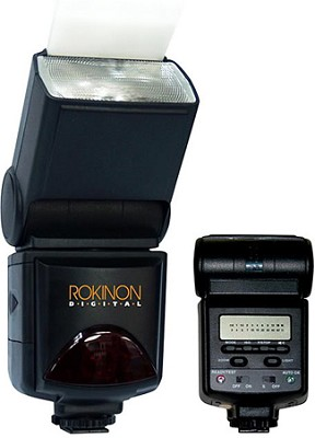 D980AF-C E-TTL II AF PowerZoom Camera Flash for Canon EOS 50D/30D/20D/Xs