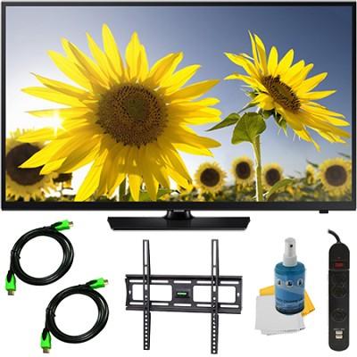 UN48H4005 - 48-inch HD 720p LED TV CMR 60 Plus Mount & Hook-Up Bundle