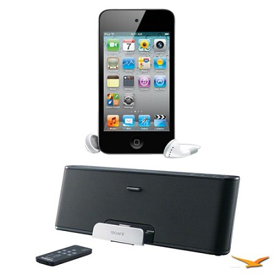 iPod Touch 32GB 4th Gen. MP3 and Media Player and RDPX200IP Speaker Dock Bundle