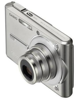 Exilim EX-S600 SUPER Slim Digital Camera (Sparkle Silver)