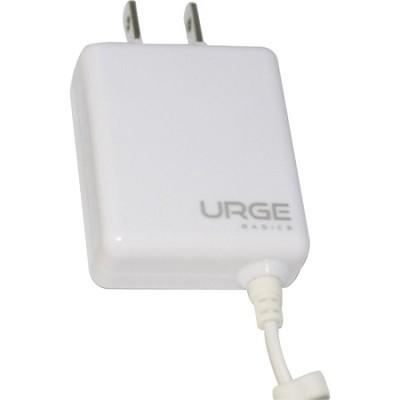 URGE Basics Folding Blade Compact Wall Charger iPhone 4 - White