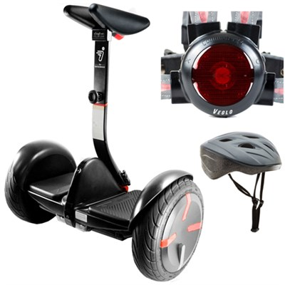 miniPRO Smart Self Balancing Personal Transporter Black w/ Protective Kit