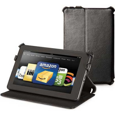 C.E.O. Hybrid Folio Case Fire 7 Tablet  (Black)