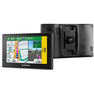 50LMT Drive Assist GPS Built-In Dash Cam +1 Year Warranty -Certified Refurbished