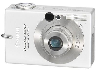 Powershot SD110 Digital ELPH Camera