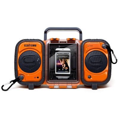 GDI-AQ2SI60 ECOXGEAR Rugged and Waterproof Stereo Boombox