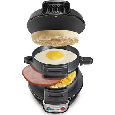 Breakfast Sandwich Maker - Black (25477)