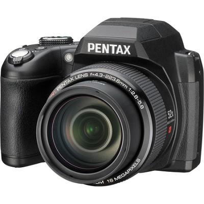 Pentax XG-1 16MP 3-inch LCD 52X Megazoom Digital Camera - Black - OPEN BOX
