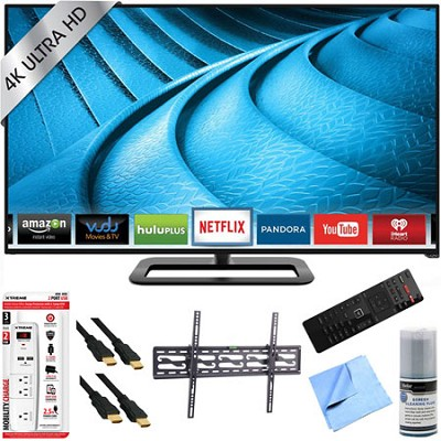 P502ui-B1E - 50-Inch 2160p 120Hz Ultra HD 4K LED Smart TV Plus Tilt Mount Bundle