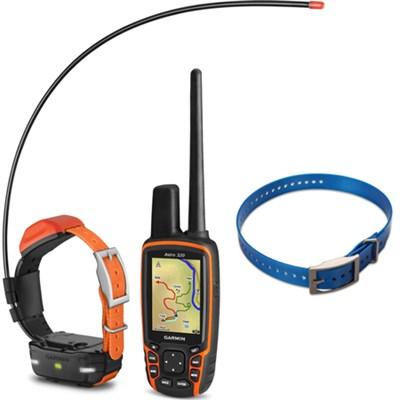 Astro 320 Handheld and T 5 mini Dog Training Device - Dog Collar Blue Bundle