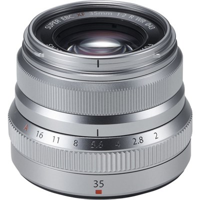 Fujinon XF35mm F2 R WR Silver X-Mount Lens