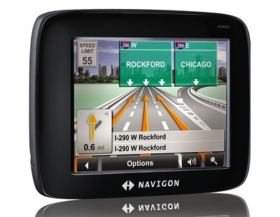 2100 3.5-Inch Portable GPS Navigator (Refurbished)