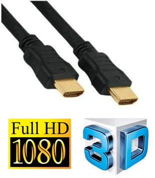 HDMI for 3D Audio/Video Cable for 3D HDTV - 6 Feet