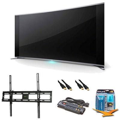 KDL-65S990A 65-Inch Bravia LCD HDTV Wall Mount Bundle