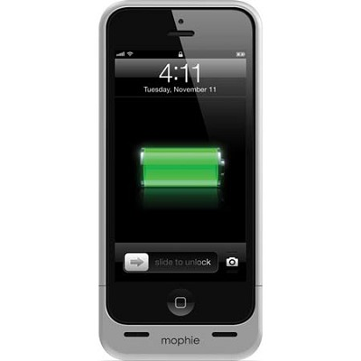 Juice Pack Helium Rechargeable 1500mAh Battery Case for iPhone 5/ 5s (Metallic)